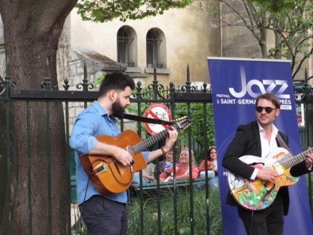 Jazz musicians at Notre Dame