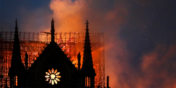 Notre Dame fire in April