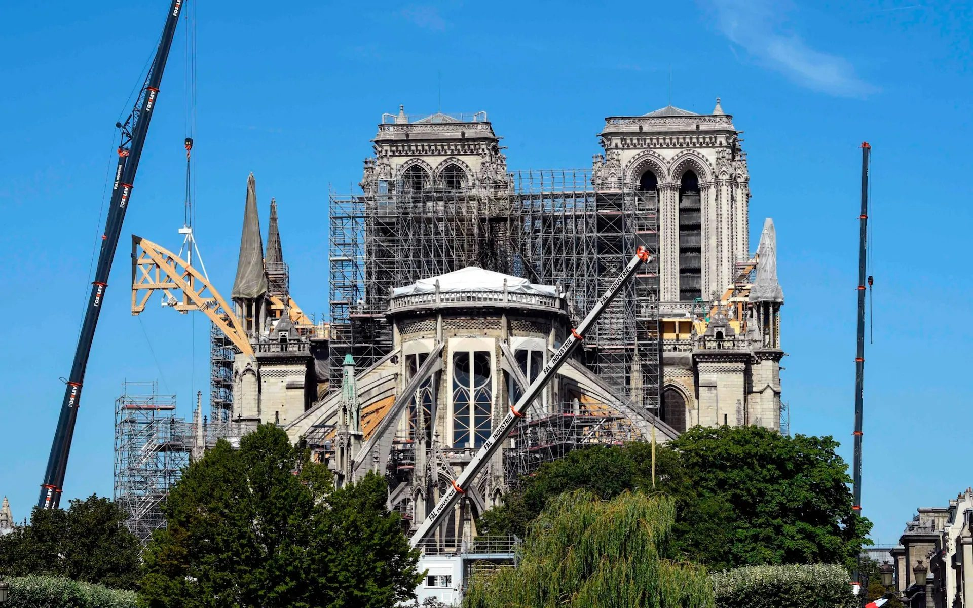 Notre Dame after the fire