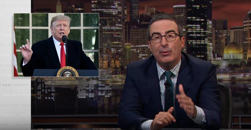 Oliver on Trump