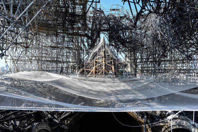 Fused scaffolding