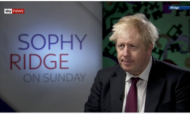 Johnson on Sophy Ridge show