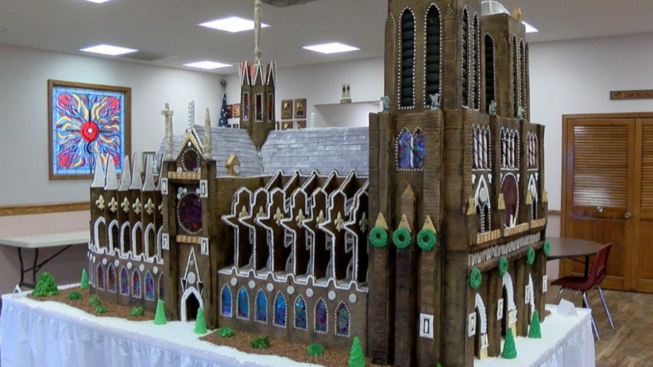 gingerbread Notre Dame