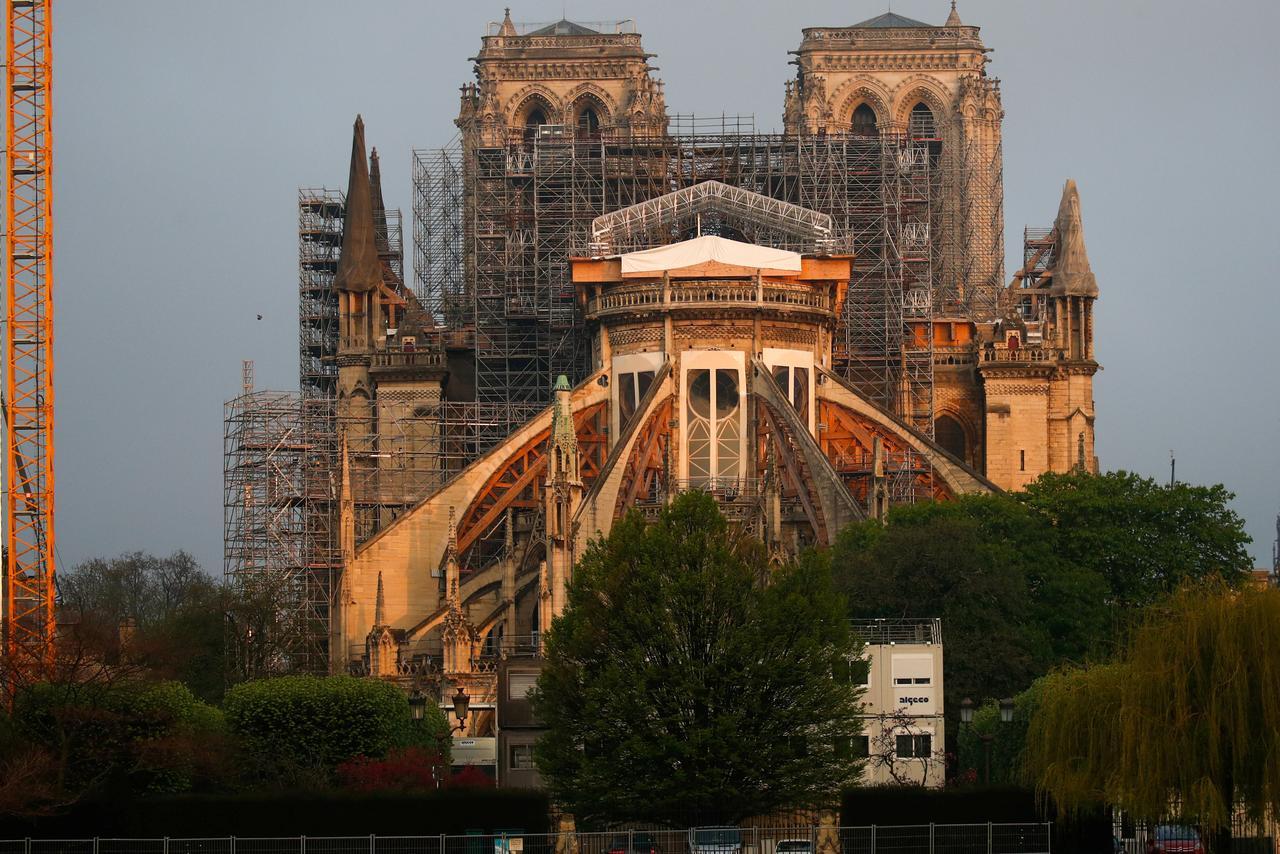 Notre Dame in restoration
