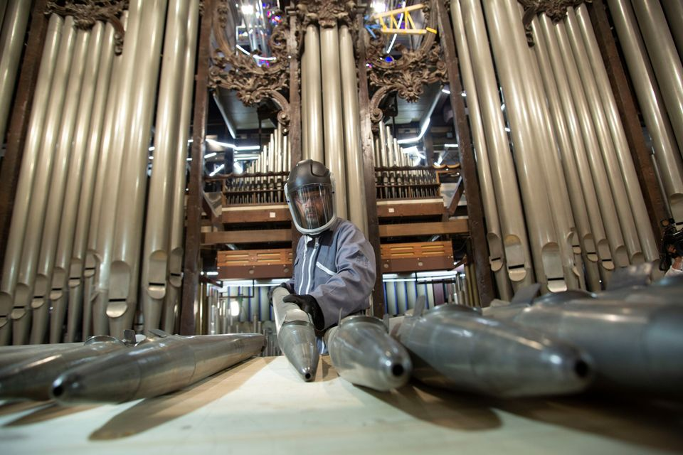 Notre Dame organ
