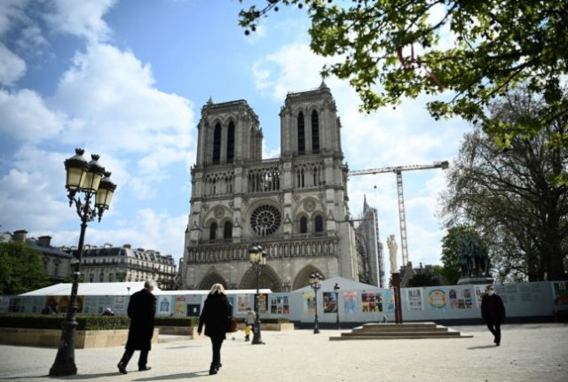 Outside of Notre Dame